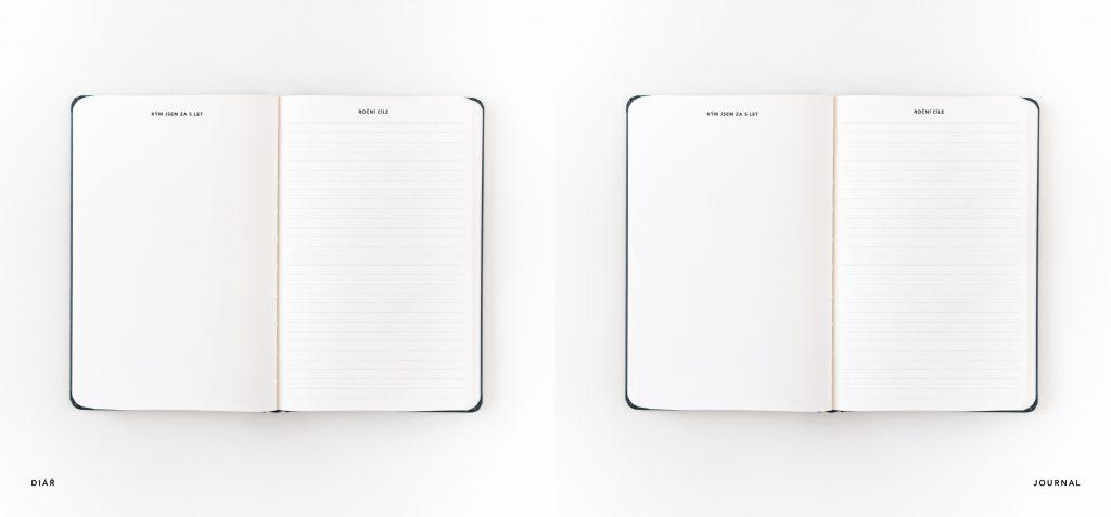 Diář vs. Journal
