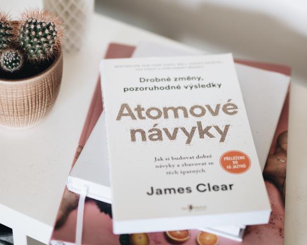 Kniha Atomové návyky
